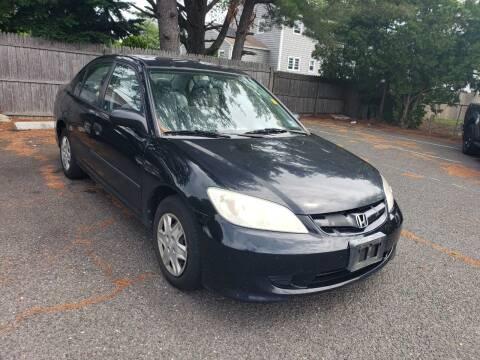 2005 Honda Civic for sale at CRS 1 LLC in Lakewood NJ