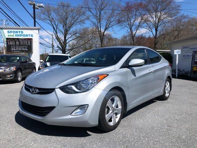 2013 Hyundai Elantra for sale at Sports & Imports in Pasadena MD