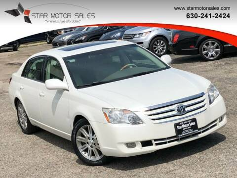 2007 Toyota Avalon for sale at Star Motor Sales in Downers Grove IL