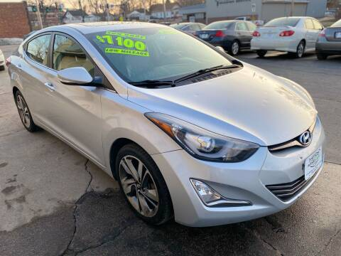 2014 Hyundai Elantra for sale at Rocket Cars Auto Sales LLC in Des Moines IA