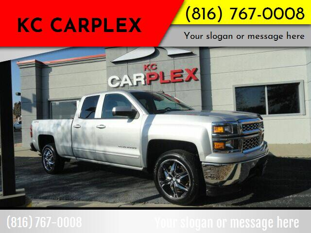 2015 Chevrolet Silverado 1500 for sale at KC Carplex in Grandview MO
