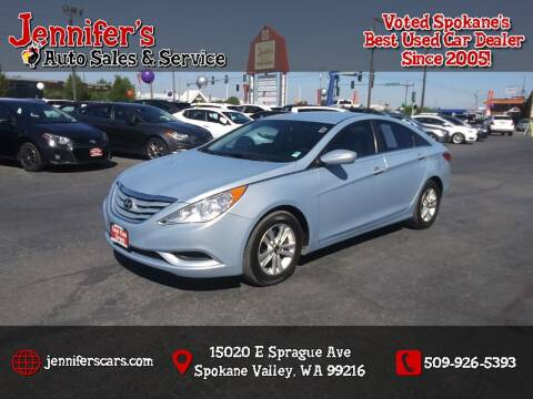 2013 Hyundai Sonata for sale at Jennifer's Auto Sales in Spokane Valley WA