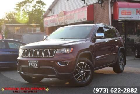 2017 Jeep Grand Cherokee for sale at www.onlycarsnj.net in Irvington NJ