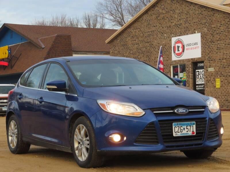 2012 Ford Focus for sale at Big Man Motors in Farmington MN