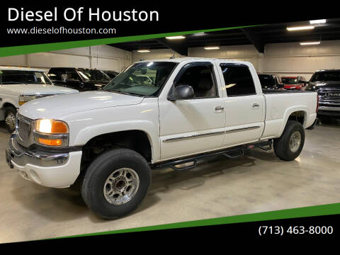 2005 GMC Sierra 2500HD for sale at Diesel Of Houston in Houston TX
