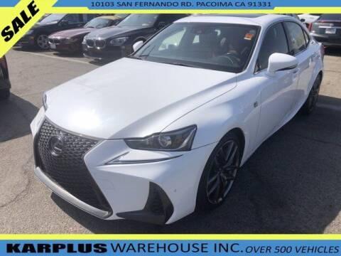 2018 Lexus IS 300 for sale at Karplus Warehouse in Pacoima CA