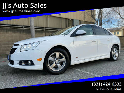 2014 Chevrolet Cruze for sale at JJ's Auto Sales in Salinas CA