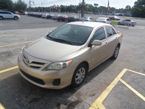 2011 Toyota Corolla for sale at ORANGE PARK AUTO in Jacksonville FL
