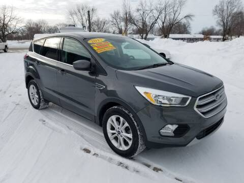 2017 Ford Escape for sale at CENTER AVENUE AUTO SALES in Brodhead WI