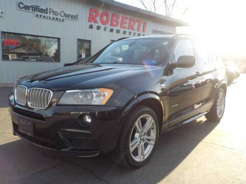 2012 BMW X3 for sale at Roberti Automotive in Kingston NY
