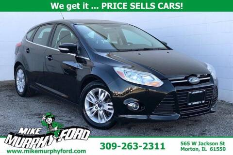 2012 Ford Focus for sale at Mike Murphy Ford in Morton IL