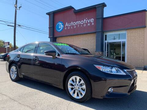 2014 Lexus ES 300h for sale at Automotive Solutions in Louisville KY