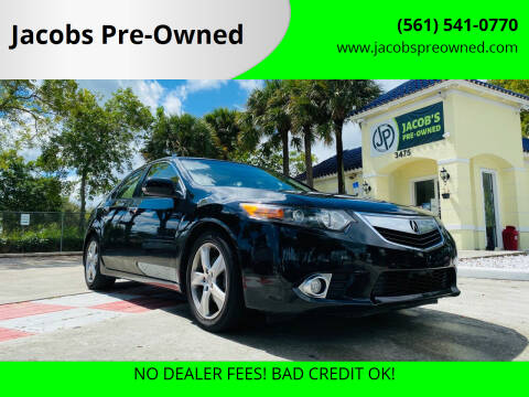 2012 Acura TSX for sale at Jacobs Pre-Owned in Lake Worth FL