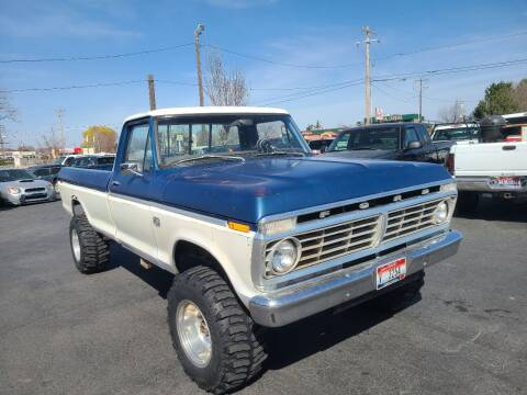1973 Ford F-250 for sale at Silverline Auto Boise in Meridian ID