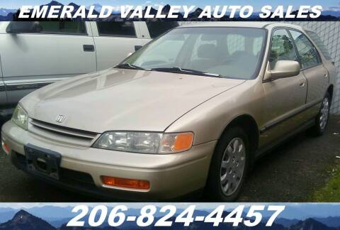1994 Honda Accord for sale at Emerald Valley Auto Sales in Des Moines WA
