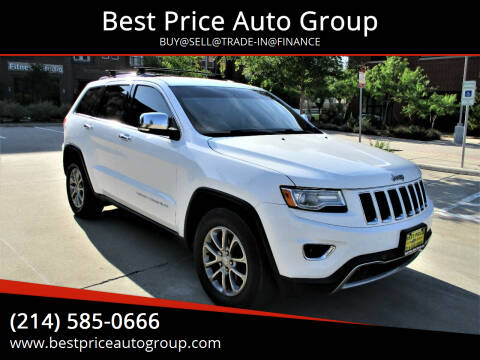 2014 Jeep Grand Cherokee for sale at Best Price Auto Group in Mckinney TX