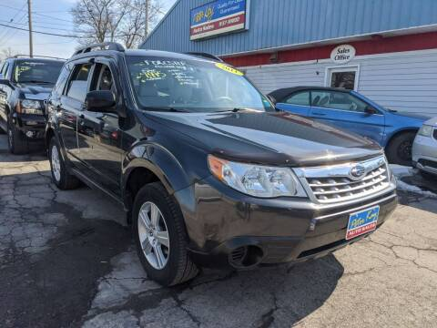 2011 Subaru Forester for sale at Peter Kay Auto Sales in Alden NY