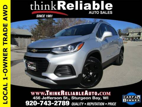 2018 Chevrolet Trax for sale at RELIABLE AUTOMOBILE SALES, INC in Sturgeon Bay WI