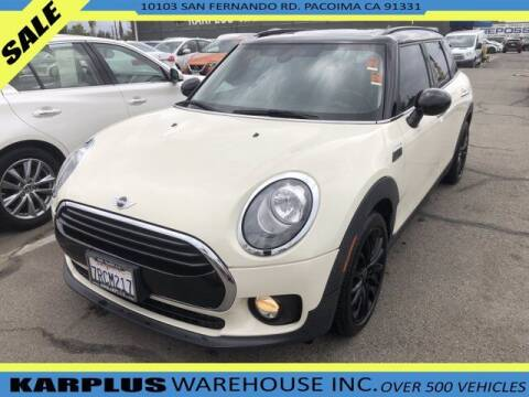 2016 MINI Clubman for sale at Karplus Warehouse in Pacoima CA