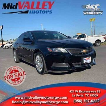 2016 Chevrolet Impala for sale at Mid Valley Motors in La Feria TX