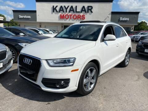 2015 Audi Q3 for sale at KAYALAR MOTORS in Houston TX
