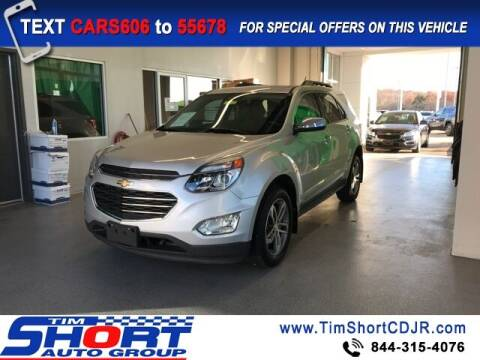 2016 Chevrolet Equinox for sale at Tim Short Chrysler in Morehead KY