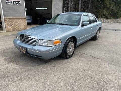 2003 Ford Crown Victoria for sale at Boot Jack Auto Sales in Ridgway PA
