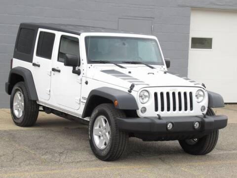 2018 Jeep Wrangler JK Unlimited for sale at K&M Wayland Chrysler  Dodge Jeep Ram in Wayland MI