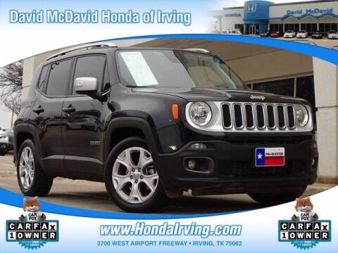 2018 Jeep Renegade for sale at DAVID McDAVID HONDA OF IRVING in Irving TX