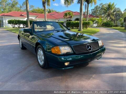 1994 Mercedes-Benz SL-Class for sale at Autohaus of Naples Inc. in Naples FL