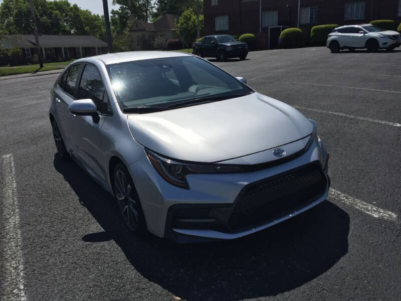 2020 Toyota Corolla for sale at DEALS ON WHEELS in Moulton AL