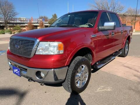 2007 Ford F-150 for sale at California Auto Sales in Amarillo TX