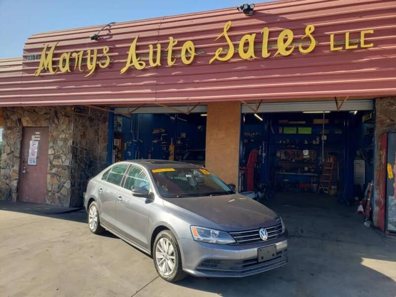 2015 Volkswagen Jetta for sale at Marys Auto Sales in Phoenix AZ