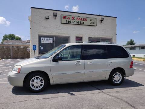 2004 Mercury Monterey for sale at C & S SALES in Belton MO
