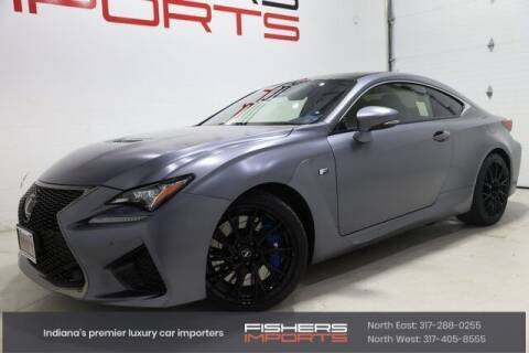 2019 Lexus RC F for sale at Fishers Imports in Fishers IN