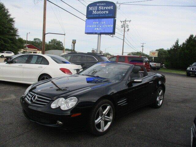 2005 Mercedes-Benz SL-Class for sale at Mill Street Motors in Worcester MA