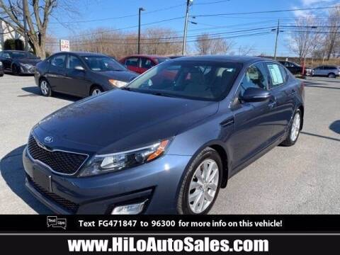 2015 Kia Optima for sale at Hi-Lo Auto Sales in Frederick MD