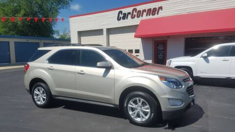 2016 Chevrolet Equinox for sale at Car Corner in Mexico MO