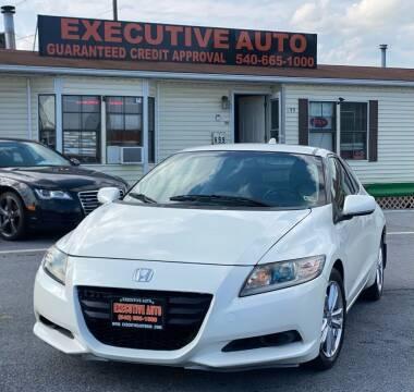 2011 Honda CR-Z for sale at Executive Auto in Winchester VA