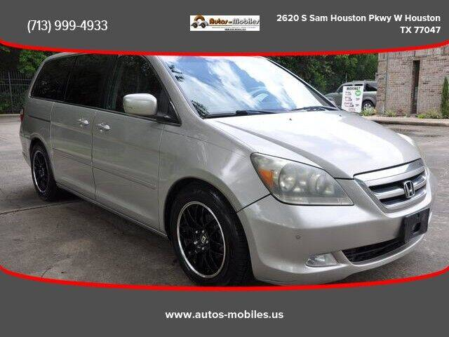 2006 Honda Odyssey for sale at AUTOS-MOBILES in Houston TX