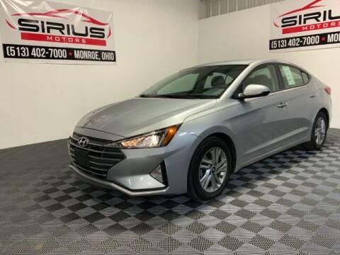 2020 Hyundai Elantra for sale at SIRIUS MOTORS INC in Monroe OH