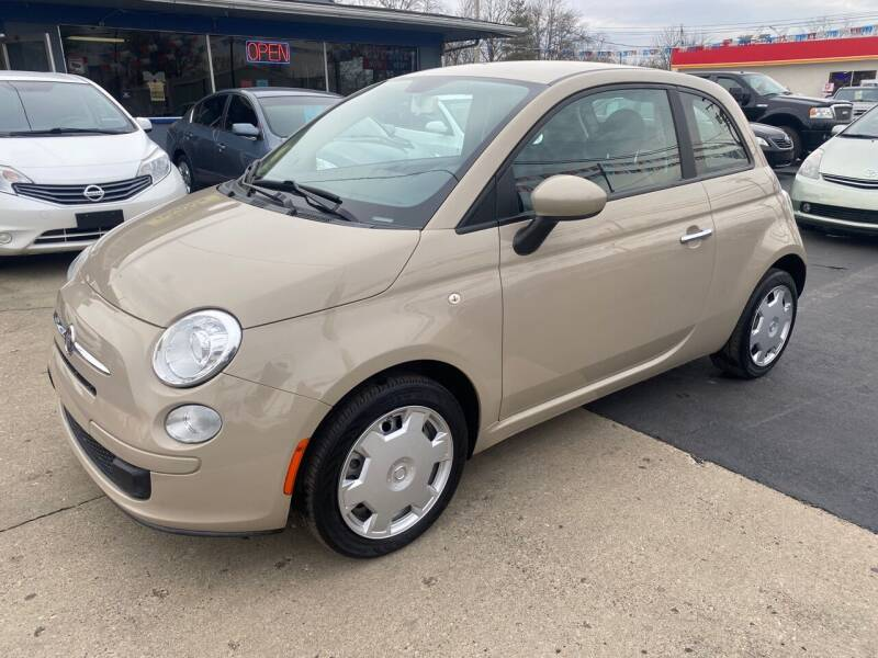 2012 FIAT 500 for sale at Wise Investments Auto Sales in Sellersburg IN