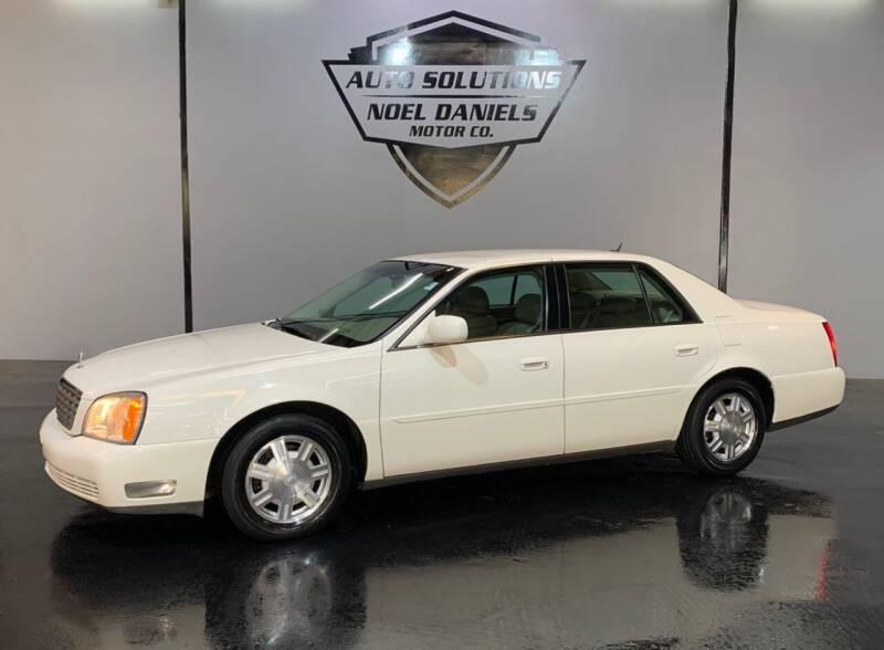 2005 Cadillac DeVille for sale at Noel Daniels Motor Company in Ridgeland MS