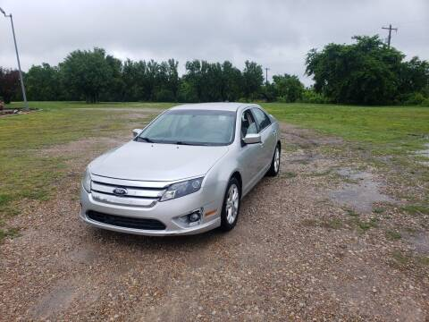 2012 Ford Fusion for sale at NOTE CITY AUTO SALES in Oklahoma City OK