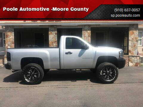 2013 Chevrolet Silverado 1500 for sale at Poole Automotive in Laurinburg NC