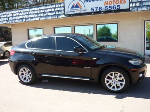 2009 BMW X6 for sale at Mountain View Motors Inc in Colorado Springs CO
