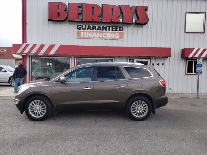 2008 Buick Enclave for sale at Berry's Cherries Auto in Billings MT