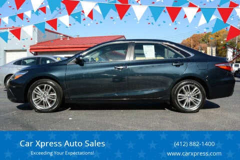 2015 Toyota Camry for sale at Car Xpress Auto Sales in Pittsburgh PA