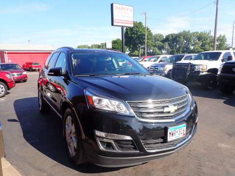 2016 Chevrolet Traverse for sale at Marty's Auto Sales in Savage MN