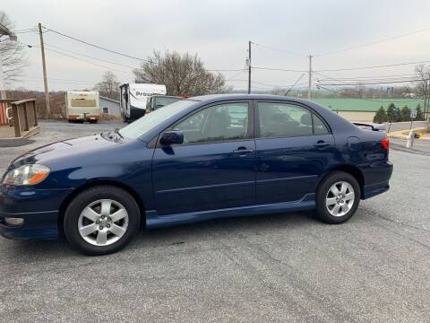 2005 Toyota Corolla for sale at GRAHAM'S AUTO SALES & SERVICE INC in Ephrata PA
